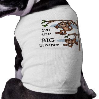 Soy la camiseta del perro de hermano mayor camiseta de perro