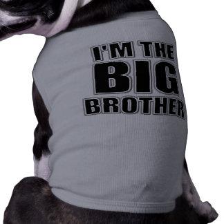 Soy la camiseta del perro de hermano mayor ropa de perro