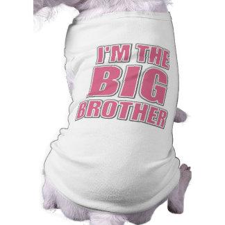 Soy la camiseta del perro de hermano mayor camisa de perro