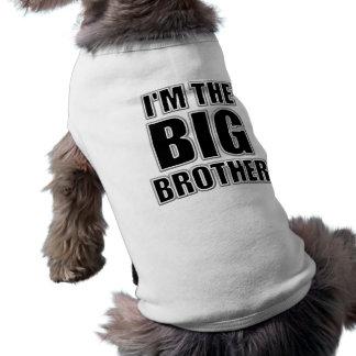 Soy la camiseta del perro de hermano mayor ropa de mascota