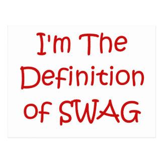 Soy la definición del Swag Postal