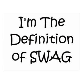 Soy la definición del Swag Postales