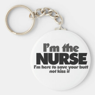 Soy la enfermera llavero personalizado