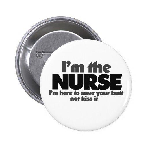 Soy la enfermera pins