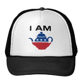 Soy la fiesta del té gorras