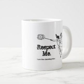 Soy la hada de la limpieza taza grande
