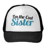 Soy la hermana fresca gorras de camionero
