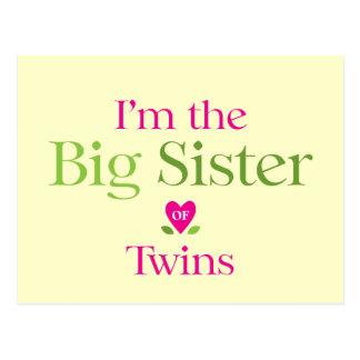 Soy la hermana grande a ser postal