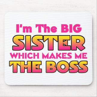 Soy la hermana grande… Boss Tapetes De Ratones