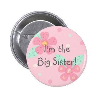 ¡Soy la hermana grande! Botón