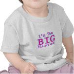 Soy la hermana grande camisetas