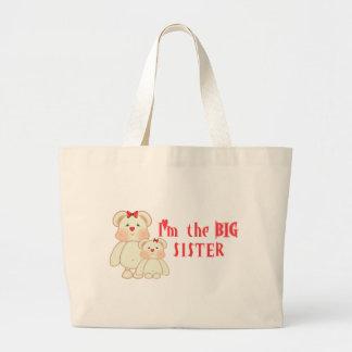 Soy la hermana grande (los osos) bolsas de mano