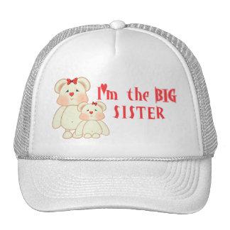 Soy la hermana grande (los osos) gorro de camionero