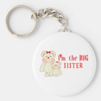Soy la hermana grande (los osos) llaveros