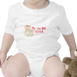 Soy la hermana grande (los osos) trajes de bebé
