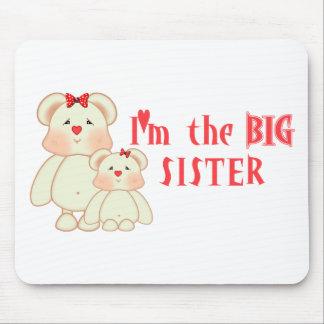 Soy la hermana grande (los osos) tapetes de ratones