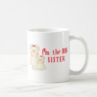 Soy la hermana grande (los osos) tazas de café