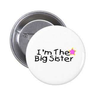 Soy la hermana grande pin redondo de 2 pulgadas
