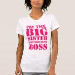 Soy la hermana grande que me hace Boss TankTop Camisetas