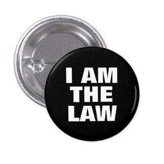 Soy la ley pin redondo de 1 pulgada