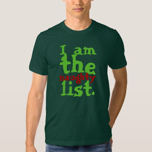 Soy la lista traviesa remera
