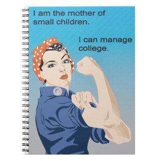 Soy la madre del pequeño cuaderno de los niños
