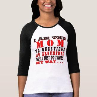 Soy la mamá camisetas