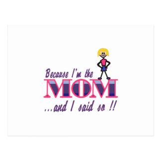 Soy la mamá postales