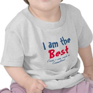 Soy la mejor causa que me hicieron en Connecticut Camiseta