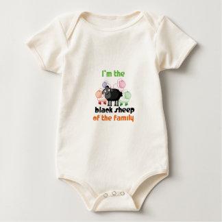 Soy la oveja negra de la familia trajes de bebé