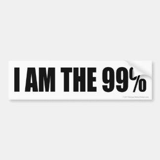 SOY la pegatina para el parachoques del 99% Pegatina Para Auto