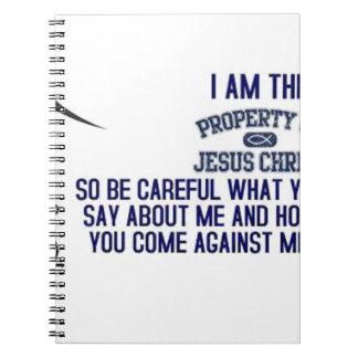 Soy la propiedad del Jesucristo Cuadernos