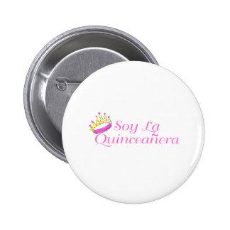 Soy La Quinceanera Button