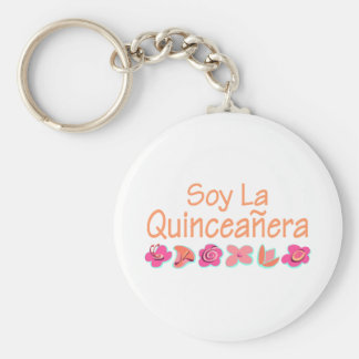 Soy La Quinceanera Keychain
