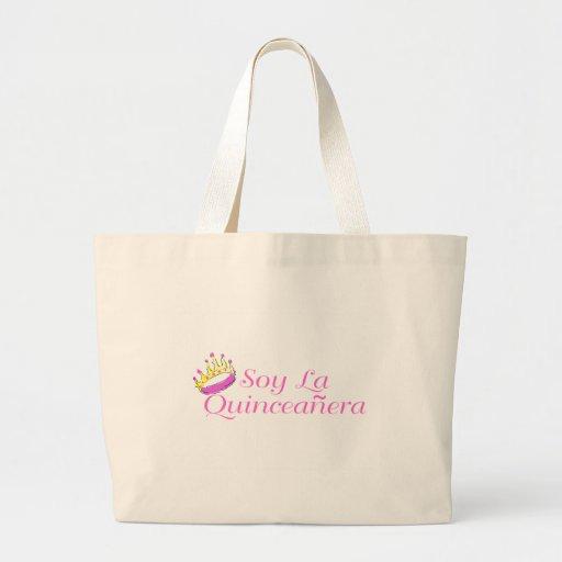 Soy La Quinceanera Large Tote Bag