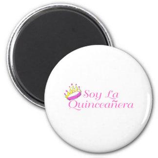 Soy La Quinceanera Refrigerator Magnets
