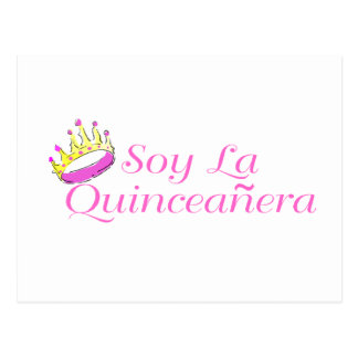 Soy La Quinceanera Postcard
