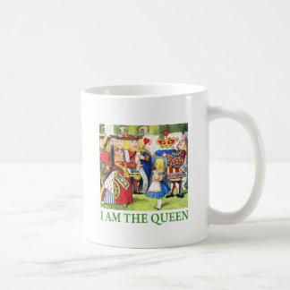 ¡Soy la reina! Taza Básica Blanca