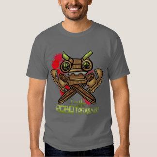 Soy la revolución del robot camisas