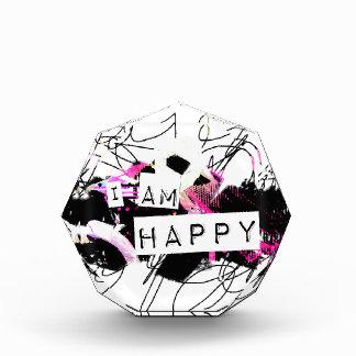 soy la sensación feliz Good.Be Happy.Tell el mundo