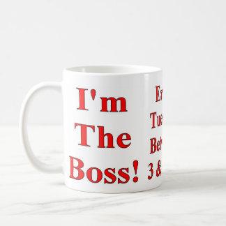 Soy la taza de café de Boss