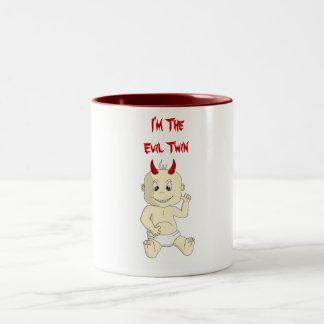 Soy la taza de café gemela malvada