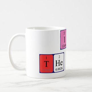 Soy la taza de la tabla periódica de Boss