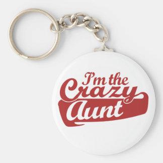 Soy la tía loca llaveros