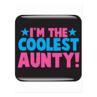 ¡Soy la tía más fresca Postal