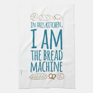 SOY la toalla de té de la máquina del pan