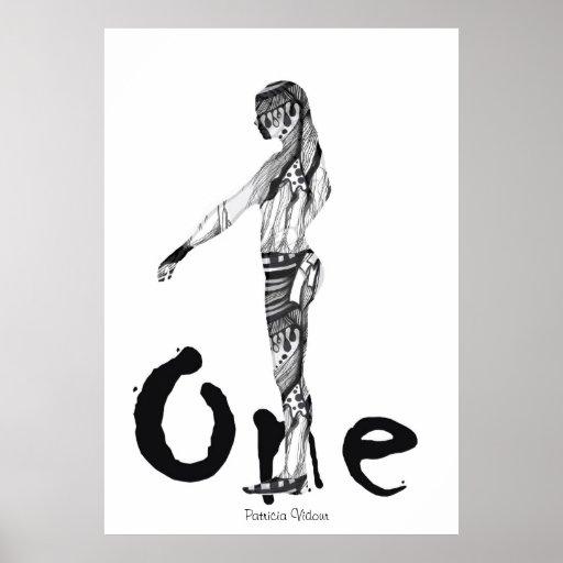 Soy la una figura póster
