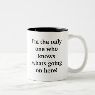 ¡Soy la única persona que sabe qué se está encendi Tazas De Café