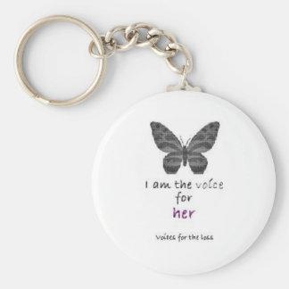 Soy la voz para ella llaveros personalizados