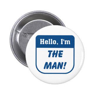 Soy las camisetas del hombre pin